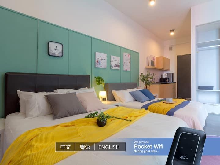 Modern Cozy Studio @ Empire Damansara 1km to IKEA