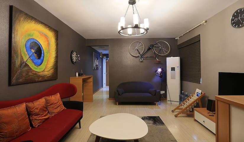 牛魔王一号摩登运动风两居公寓,近东塘商业区、长沙市中级人民法院 - Changsha - Apartment