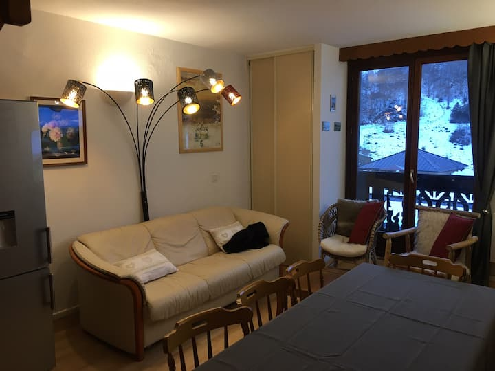 Appartement Duplex 8 a 10 personnes Guzet Neige .