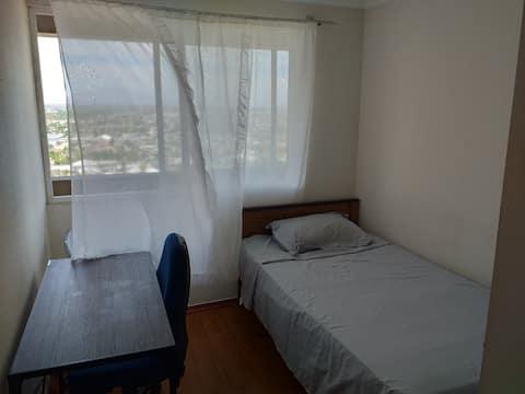Habitación ideal para viajeros.