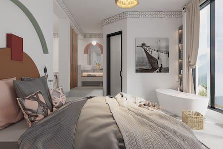 > 靜舍 · 180°海景浴缸大床房
