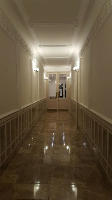 Groung floor entry
