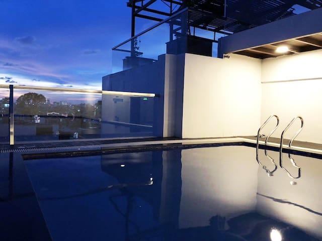 ★Oolong Tea★ Riverside Apt With Sky Pool In D3