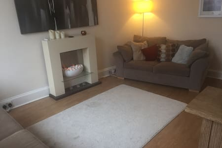 Campbeltown, ground floor flat. Central location.