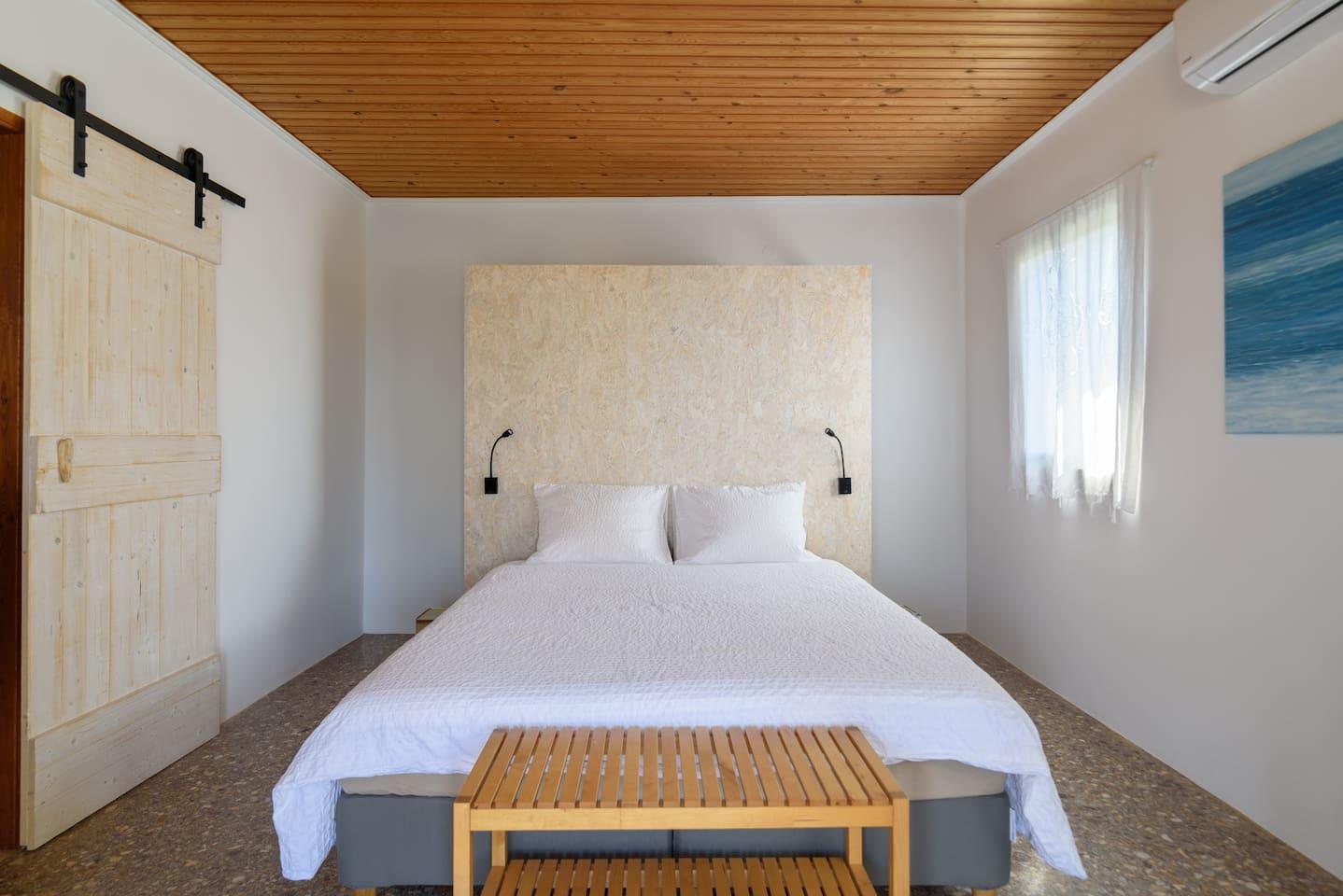 Sleep well ..............on a comfortable boxspring bed