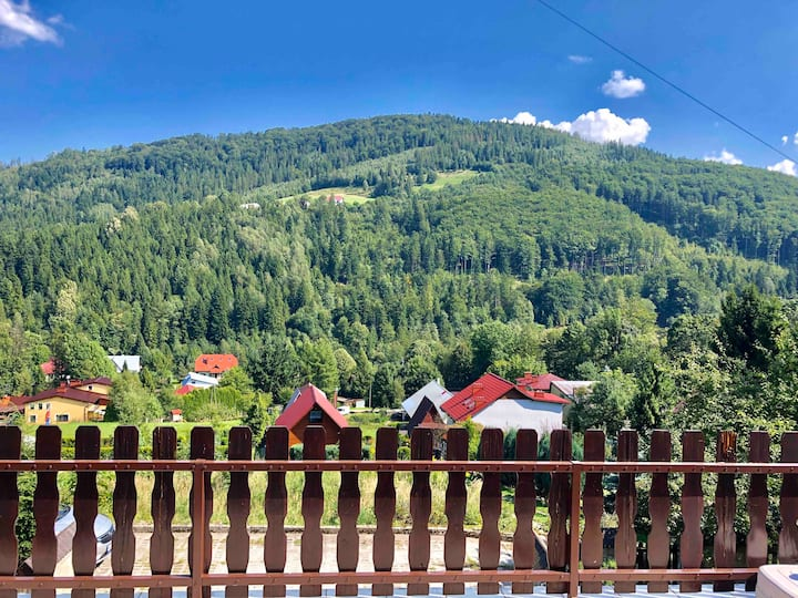 Luxury Getaway in the Mountains - in Brenna