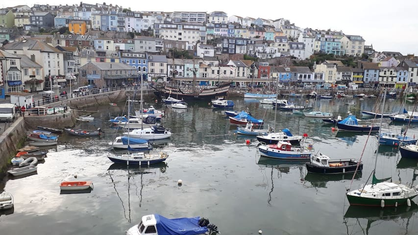 Cottage close to Brixham harbour, two bedrooms