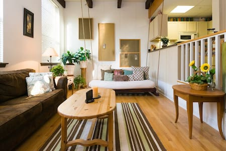 Sweet City Retreat! Luxury Art Loft - Royersford - Лофт