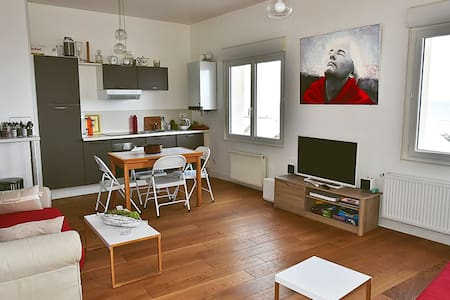 beautiful apartment with sea view - Saint-Aubin-sur-Mer