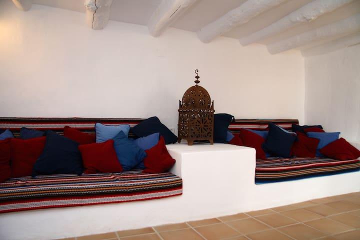 Casita Liebre, Cortijo las Rosas - Granada - Huis