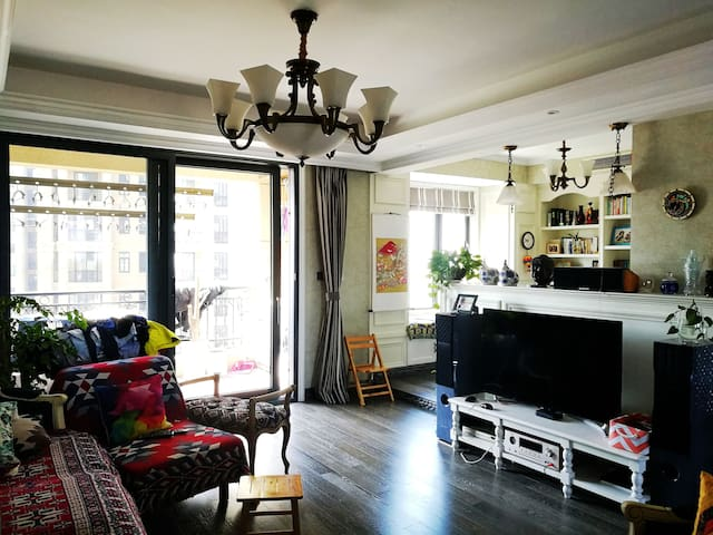 Quite & Bright Room next to the Central Park - Jiaxing Shi - Apartment