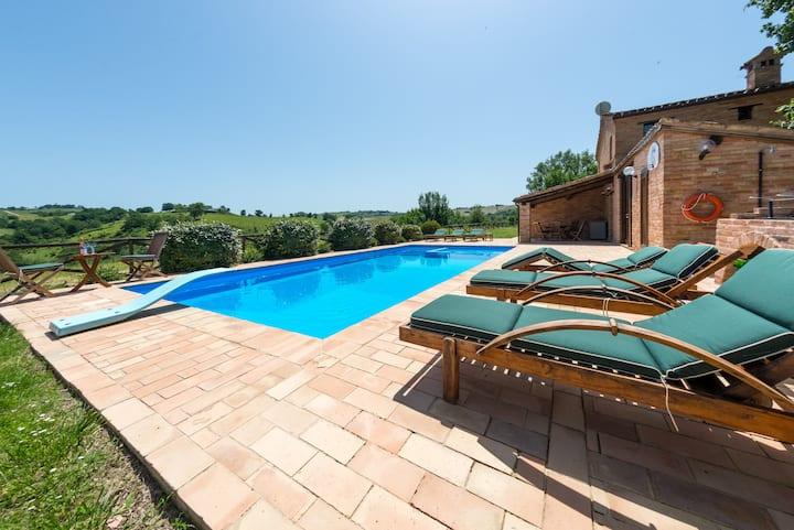 Villa Orrizonti - Enjoy the peace in a secure way