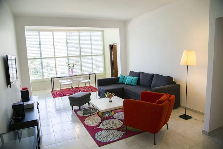 Tel Aviv Chambre double privée dans appartement