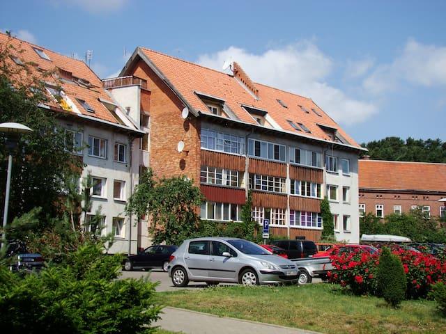 Apartamentai Dorė - นิดา
