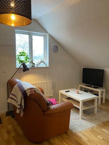 Björkdala- Lägenhet på hästgård med lantligt läge