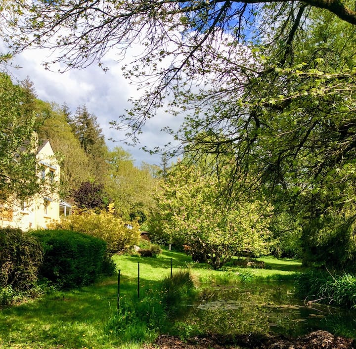 Parc de Lywel à Rochefort-en-Terre, Chambre privée