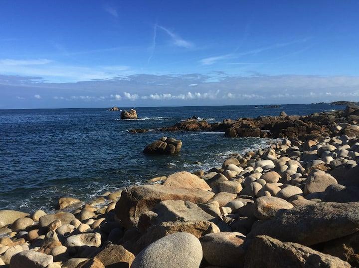 Jolie maison bretonne proche de la plage