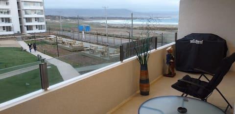 Departamento en los molles frente al mar 2do. piso