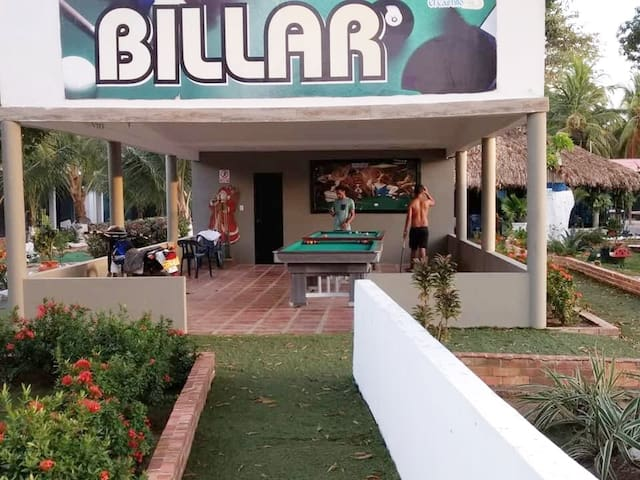 Zona común - Billar Pool
