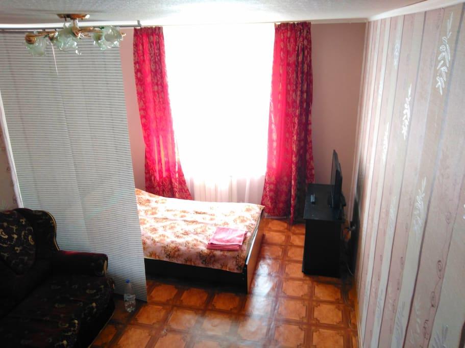 комната-комплеты белья имеються