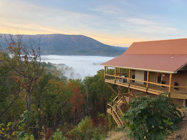 NEW! Spectacular views of Wears Valley year round!