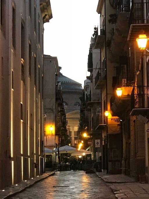 vista Teatro Massimo
