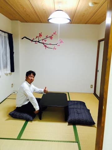 O14.Good location for a vacation in Okayama #302 - 岡山市 - Apartment