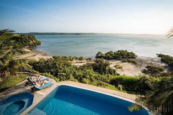 ★ Fumbeni House - An Oasis of Calm on Kilifi Creek