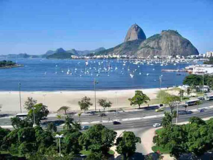 Studio Excelente localização, Praia de Botafogo