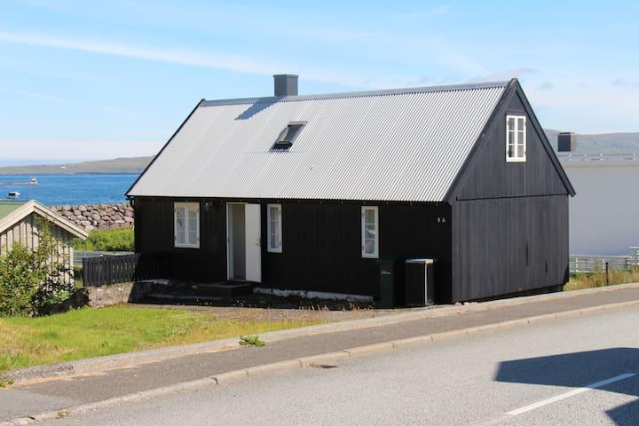 Traditional faroese house in Argir, Tórshavn
