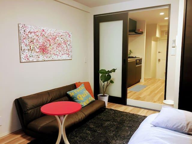5min walk to JR Ebisu Sta& Daikanyama, pocket wifi - Shibuya-ku - Apartamento