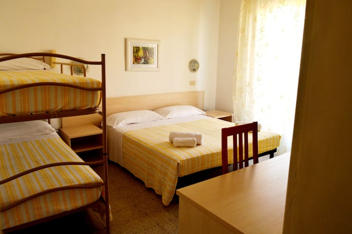 New Hotel Cirene Quadriple Room for 4 people full pension package