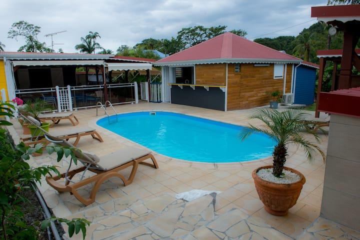 Villa  Deshaies 100m de la plage de Grande Anse