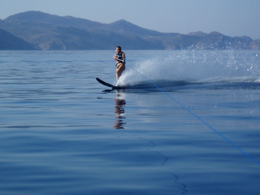 water sports.... water skiing, wake boarding & wind surfers