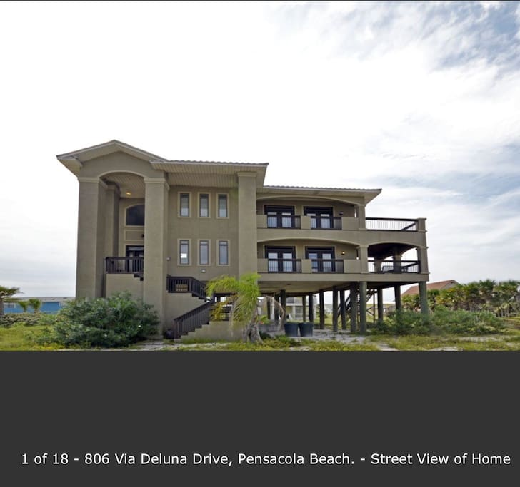 The Sandcastle 850 291 4729 Houses For Rent In Pensacola Beach Florida United States