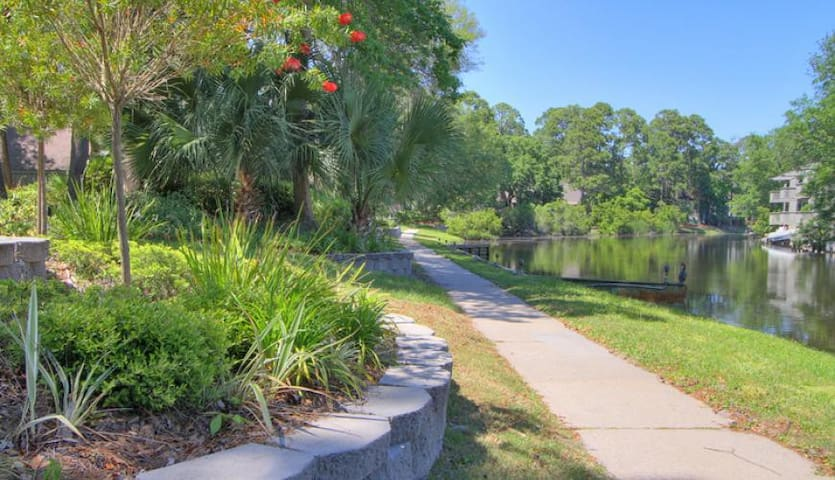 Cozy Waterfront Villa in Palmetto Dunes - Hilton Head Island - Villa
