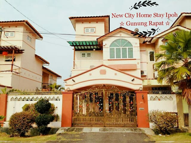 New City Home Stay Ipoh @ Gunung Rapat