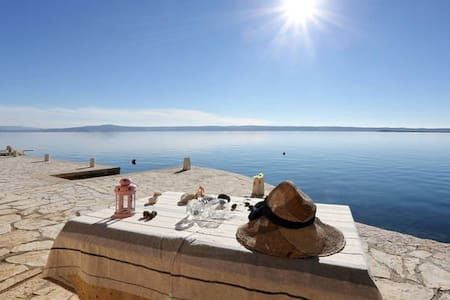 Apartment with amazing view just on the beach 1 - Starigrad - Apartmen