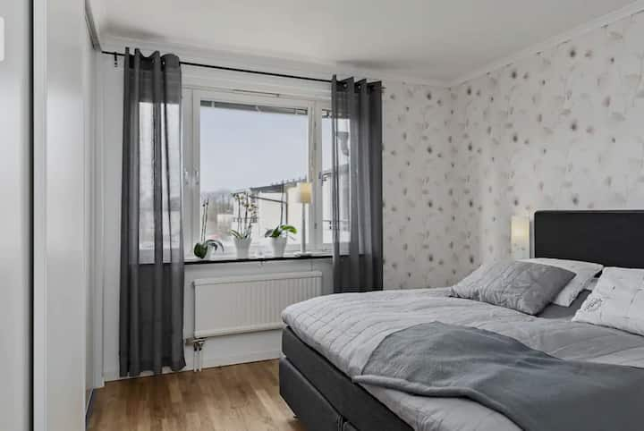 2 rooms for 4 people in Stockholm