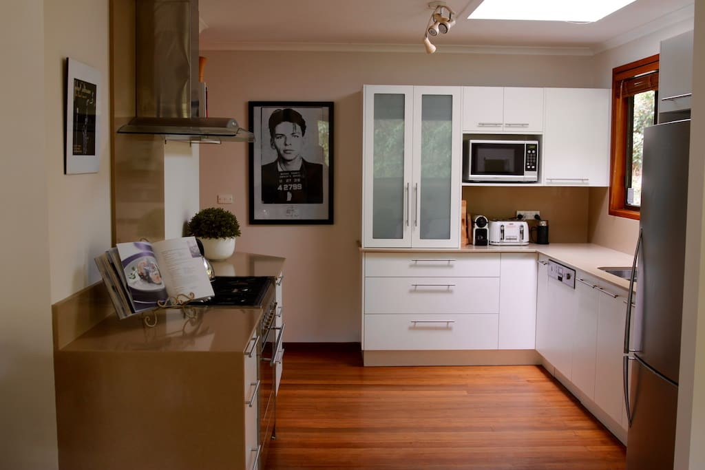 Our fully-appointed and recently renovated kitchen is any domestic cook's dream