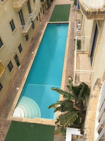 Two Bedroom Apartment with Communal Pool!