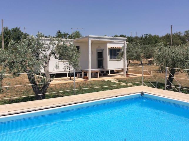 Casa in legno di 25 mq con tutti i servizi, fronte - Chiaramonte Gulfi - Bungalov