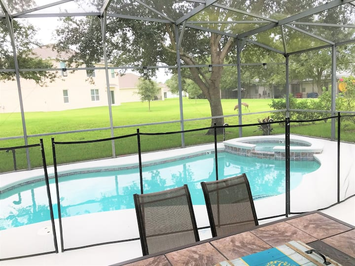 CPTL189MC - 4 beds pool and spa home - Gated