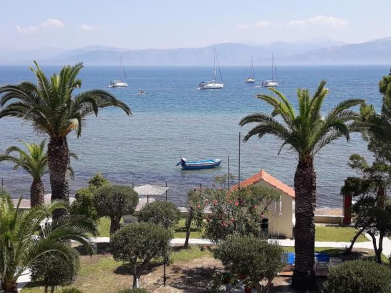 Panoramic View, Garden and Sea
