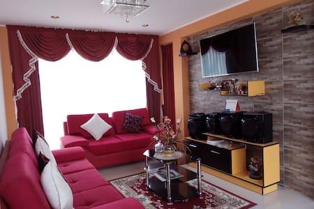 Hermosa casa con ambientes acogedores