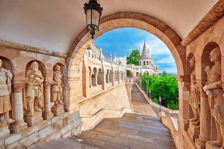 Budapest City Landmarks & Restaurants