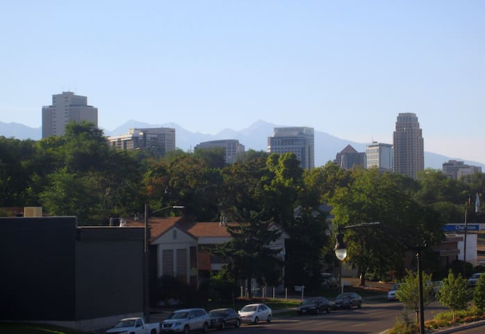 View of downtown from West Capitol Hill