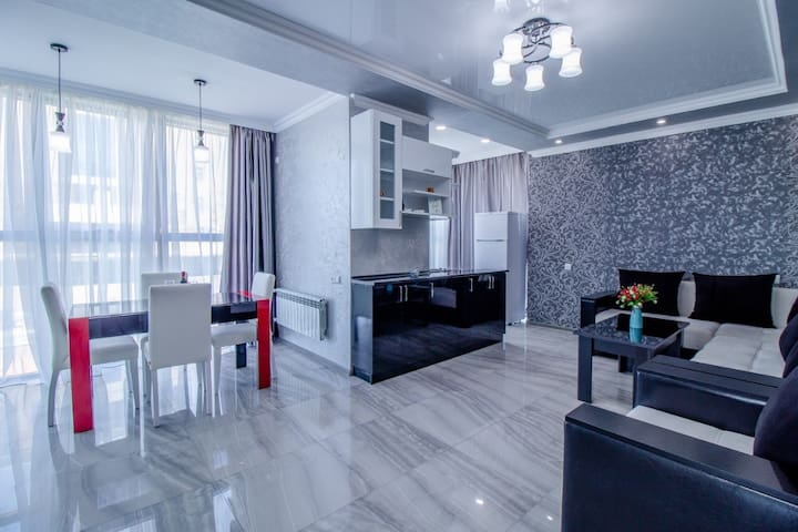 🏠 450$ monthly 19th floor apartment 2-141/1