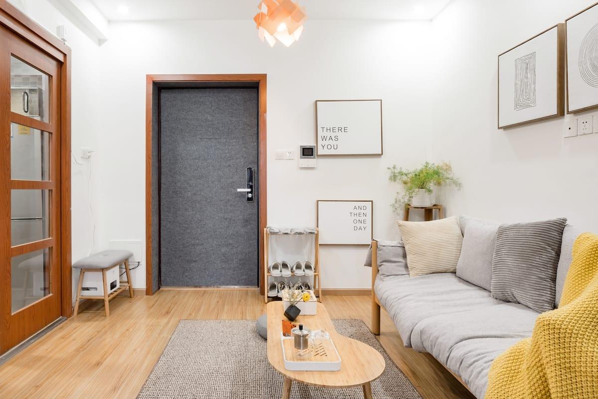 【杜若】在日式温馨高层景观公寓享受绝美夜景近春熙路太古里