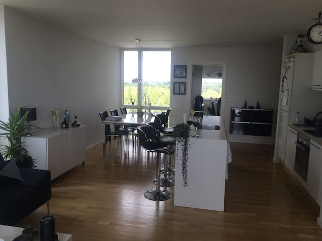 Beautiful apartment with ocean view - Vallensbæk Strand - Apartment